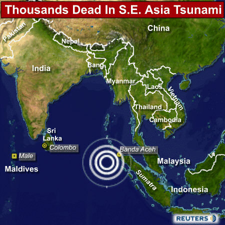 ... » NEWS: terrible earthquake in Sumatra and 6'300 dead across Asia