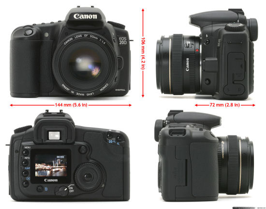 Canon EOS 20D